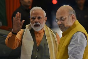 After 'political drama' unfolds in MP Assembly, Amit Shah meets PM Modi to discuss developments