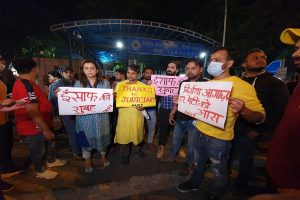 Chants of 'long live Nirbhaya' outside Tihar jail after rape convicts were hanged