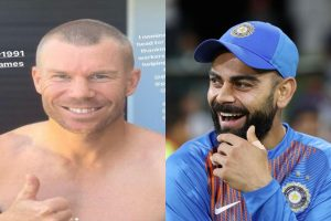 Donation not enough as David Warner asks Virat Kohli to shave off head for corona warriors