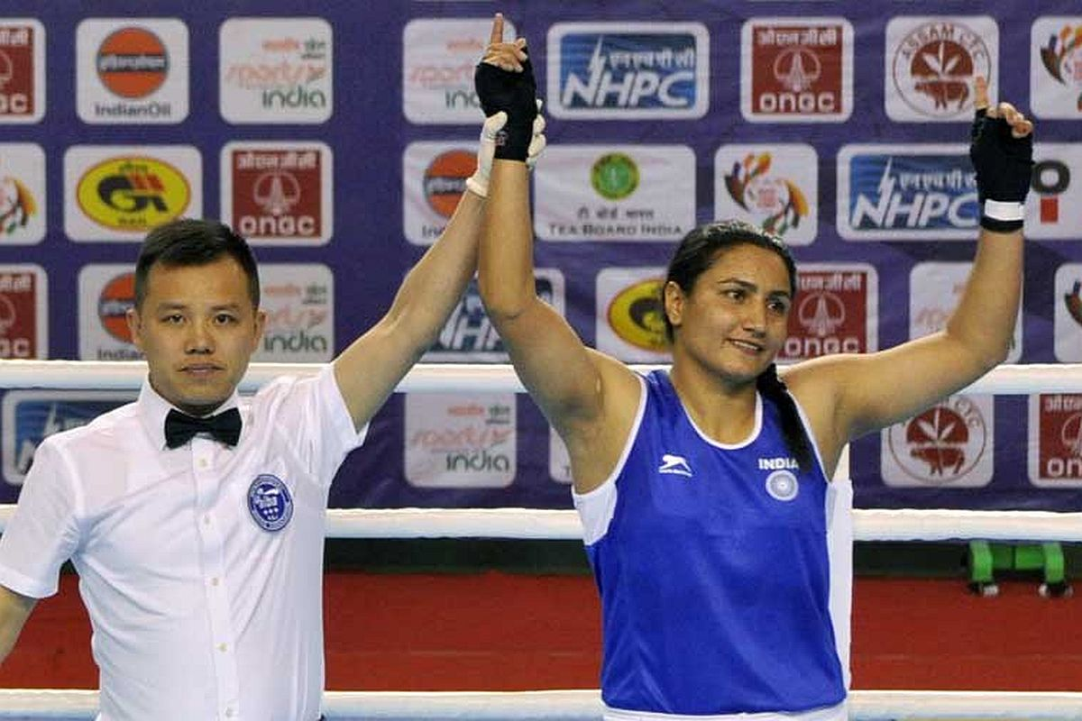 Indian boxers Panghal and Kom one fight away from Tokyo 2020