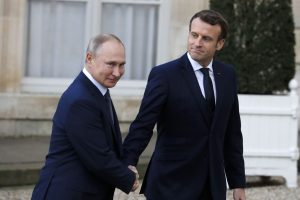 Russian President Putin, Macron discuss developments in Syria's Idlib