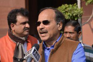 Congress MP Adhir Ranjan Chowdhury's office vandalised by 4 unidentified men, staff abused