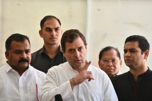 'Complete economic shutdown may disastrously amplify death toll': Rahul Gandhi writes to PM Modi