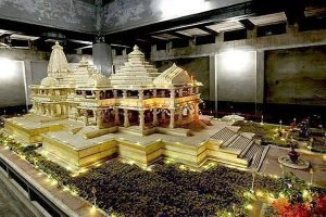 Makeshift Ram temple made in Ayodhya, 'Ramlalla' idol will be placed on March 25