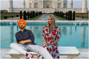 Diljit Dosanjh's photoshopped picture with Ivanka Trump is the cutest thing on Internet