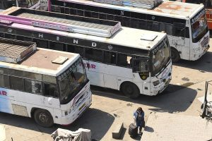 Uttar Pradesh government runs 1000 buses for migrant workers stranded amid lockdown