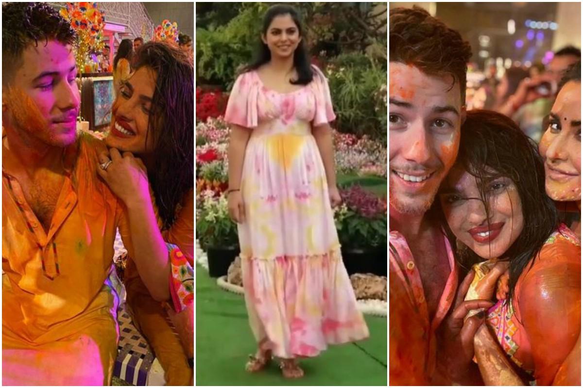 Katrina Kaif, Vicky Kaushal, Priyanka Chopra, Nick Jonas, Holi 2020, Isha Ambani, Holi bash