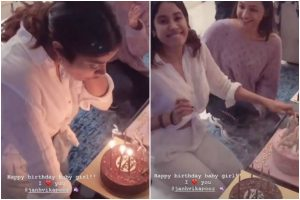 Janhvi Kapoor turns 23; sister Anshula shares party scenes