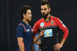 Virat Kohli overtakes Sachin Tendulkar to become fastest cricketer to score 12,000 ODI runs