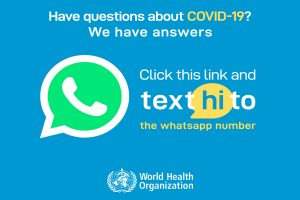 WHO Health launches WhatsApp messaging service on COVID-19