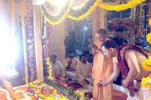 Yogi Adityanath participates in shifting of Ram Lalla idol in Ayodhya amid countrywide lockdown