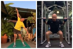 Monday blues: Hrithik Roshan shares motivational workout video of father Rakesh Roshan