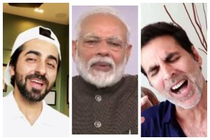 'Muskurayega India': B-town including Akshay Kumar, others come together for motivational video amidst COVID-19; PM Modi appreciates