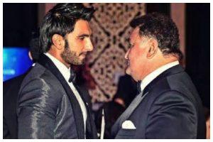 Ranveer Singh is heartbroken as he pays tribute to senior actor Rishi Kapoor