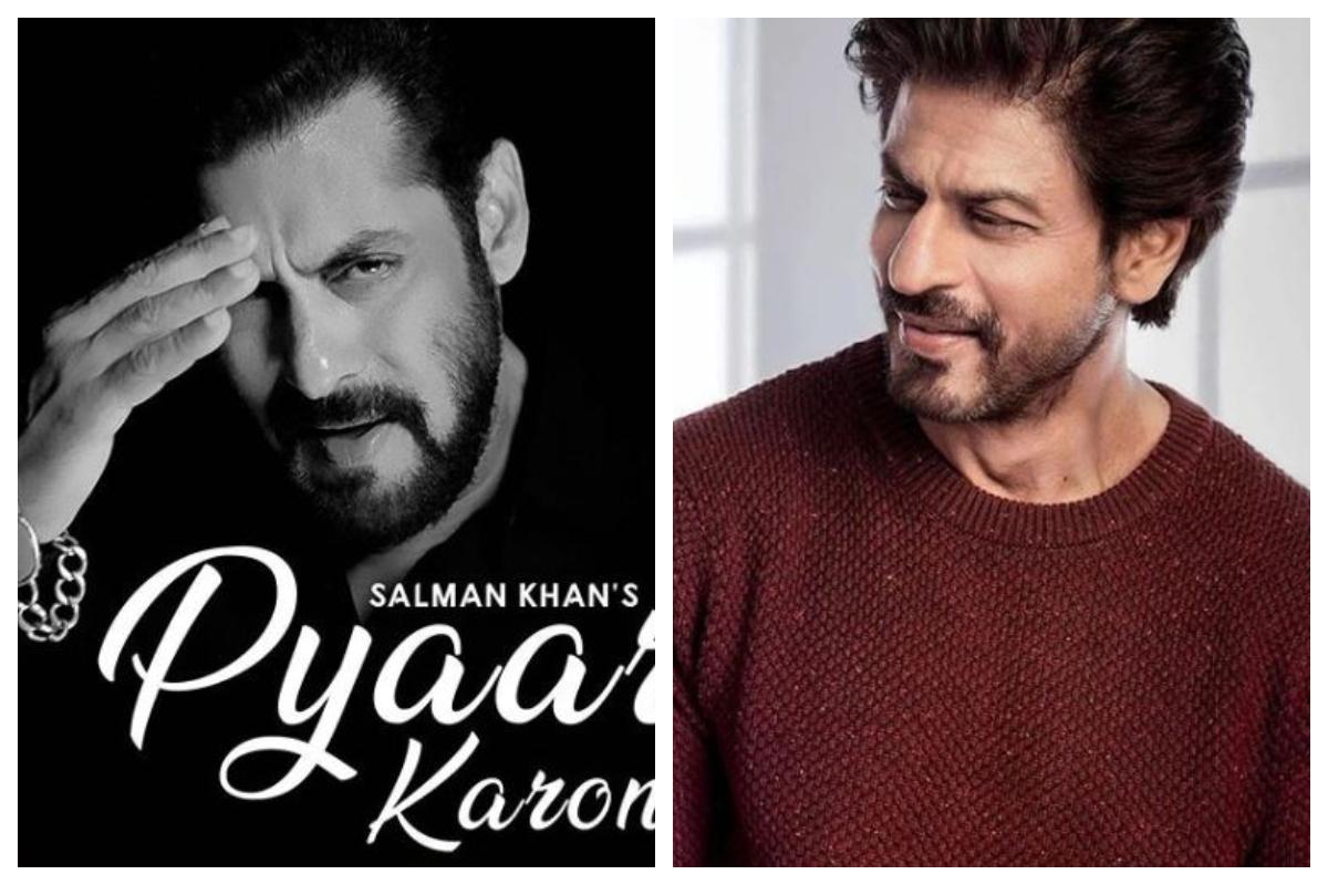Shah Rukh Khan, Salman Khan, Pyaar Karona