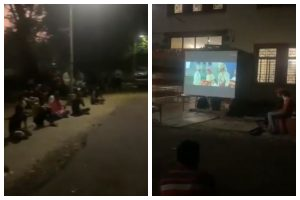 Nagpur Police sets up open theatre at shelter home, plays Ajay Devgn's 'Tanhaji' as first film