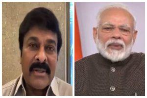 Coronavirus song: Chiranjeevi Konidela thanks PM Modi on appreciating his, Nagarjuna Akkineni and Ravi Teja's efforts