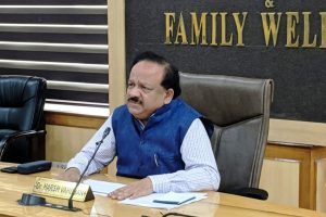 India ahead in Covid-19 fight: Harsh Vardhan