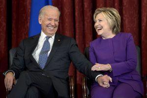 US election: Hillary Clinton endorses Democrat Joe Biden's 2020 presidential bid