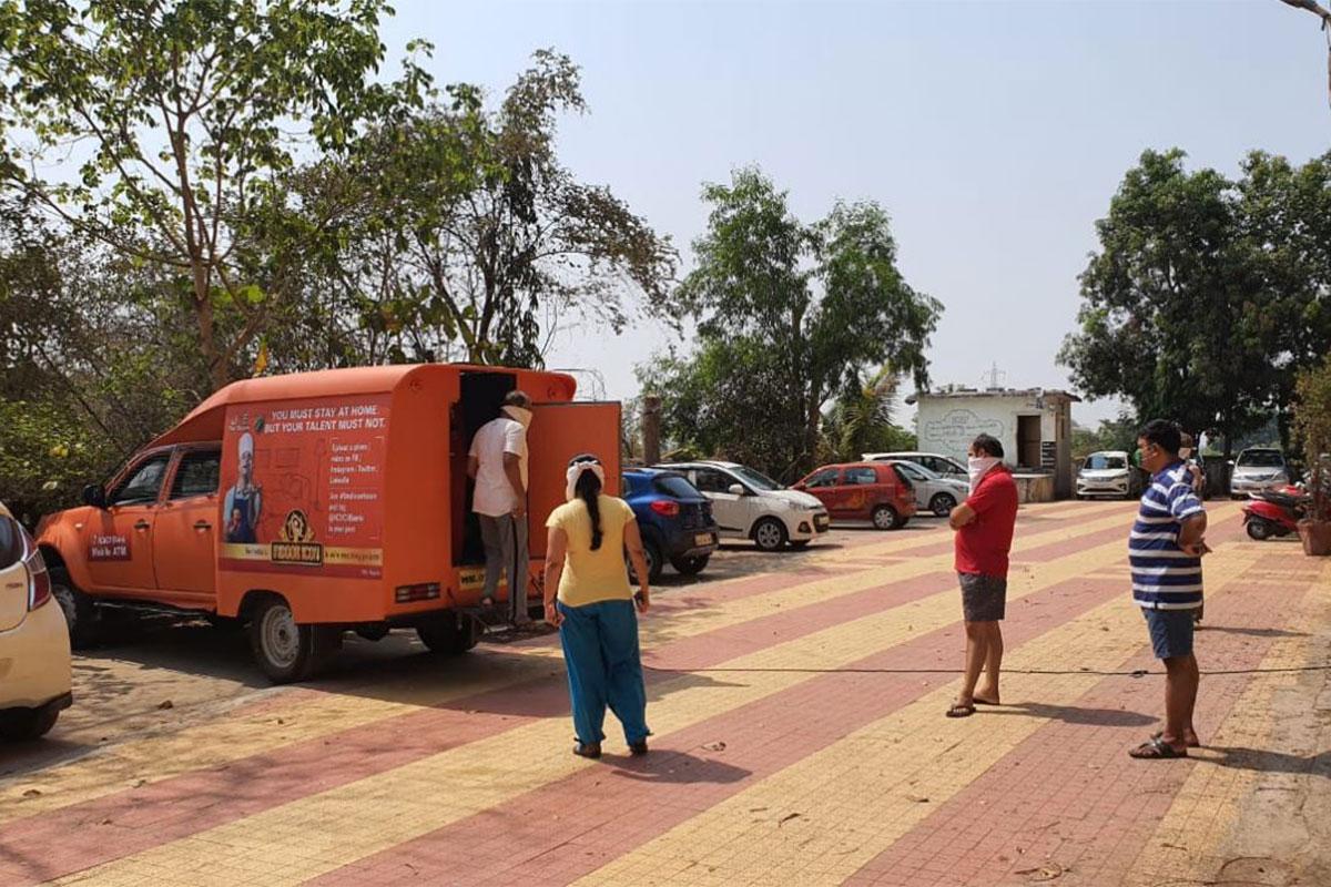ICICI Mobile ATM, COVID-19, Lockdown 2.0