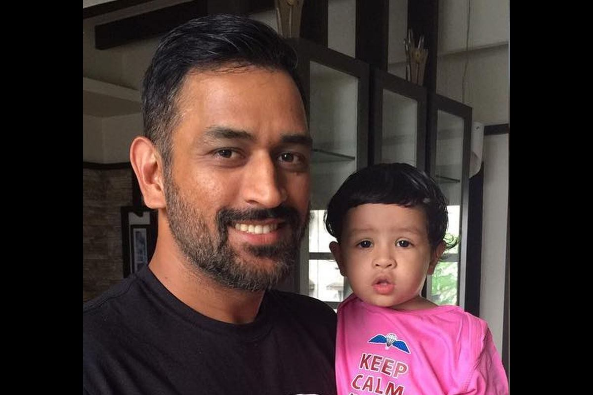 MS Dhoni, Ziva, Sakshi, Chennai Super Kings, CSK