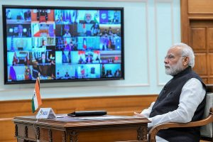 PM Modi invokes Vajpayee's 'Diya Jalaye' in new video day after 'light the lamp' call