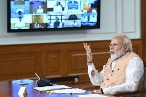 PM Modi interacts with Chief Ministers, lockdown likely to be extended in hotspots