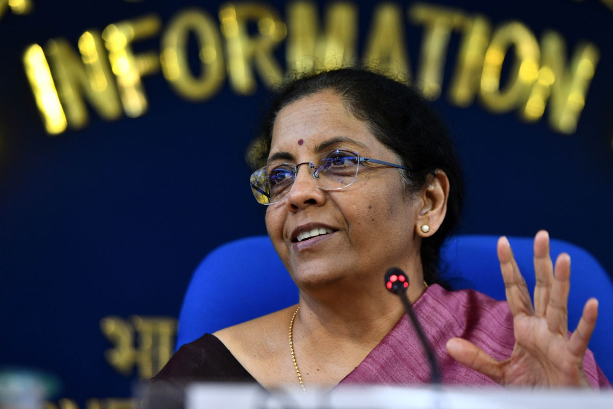 Nirmala Sitharaman, Jan Dhan Yojana, Covid-19