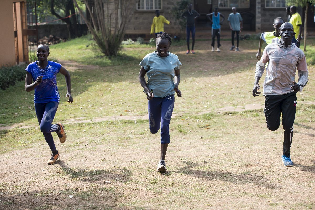 Kenyan refugee Olympic athlete braves COVID-19