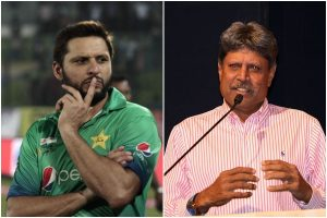 Such negative comments don't help: Shahid Afridi criticises Kapil Dev for remark on Ind-Pak series
