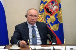 Russian President Putin signs law granting cabinet powers to declare emergency
