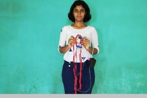 Corona control in the making? Burdwan school girl designs mask which, if worn, can kill nCoV