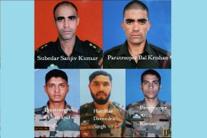 Number of soldiers martyred in Keran encounter rises to 5; equal number of terrorists killed