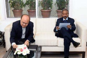 Ravi Mittal to replace Julaniya as new Sports Secretary