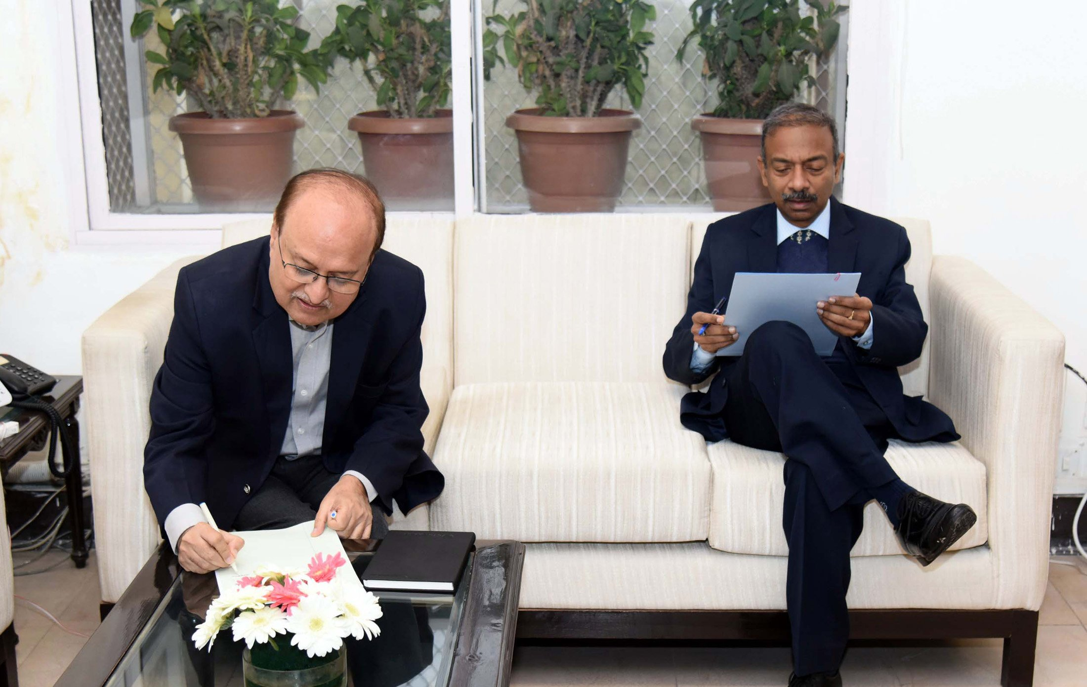 Ravi Mittal, Sports Secretary, Radhey Shyam Julaniya
