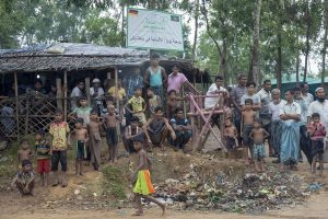 Bangladesh rescues nearly 400 Rohingya after weeks at sea