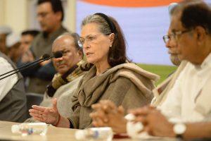 'BJP spreading virus of hatred and communal bias': Sonia Gandhi at CWC meet on Coronavirus