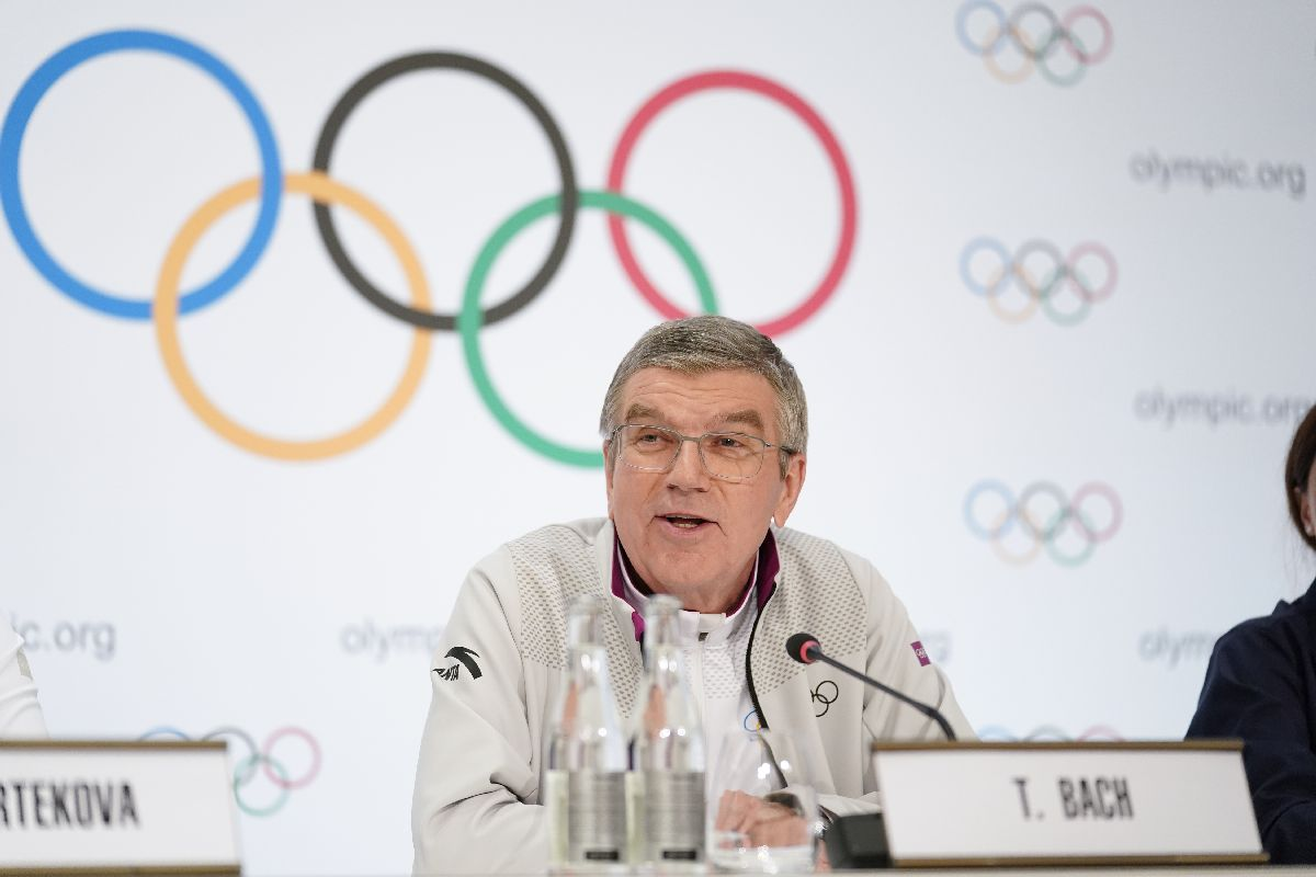 Thomas Bach, International Olympic Committee, IOC