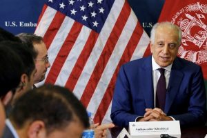 US envoy Zalmay Khalilzad welcomes NATO's call for Afghan peace