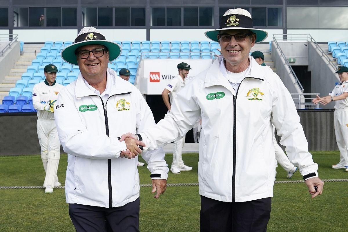 Simon Fry, John Ward, Cricket umpires, Cricket