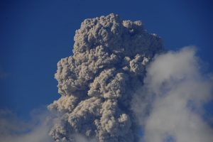 Indonesian volcano erupts, spews 500m high column of ash
