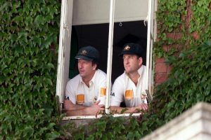 On this day: Waugh brothers become first twins to play in a Test for Australia