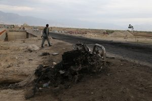 6 Afghan military base workers killed in attack, many injured