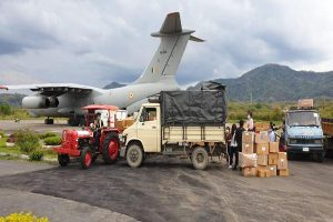 IAF steps up efforts to meet requirement amid lockdown, supplies 600 tonnes relief material