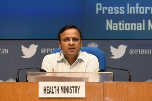 1,396 cases of COVID-19 reported in last 24 hours, recovery rate is 22.17%: Health Ministry