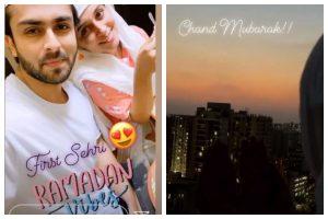 Dipika Kakar wishes Chand Mubarak, shares sneak-peek of her first sehri