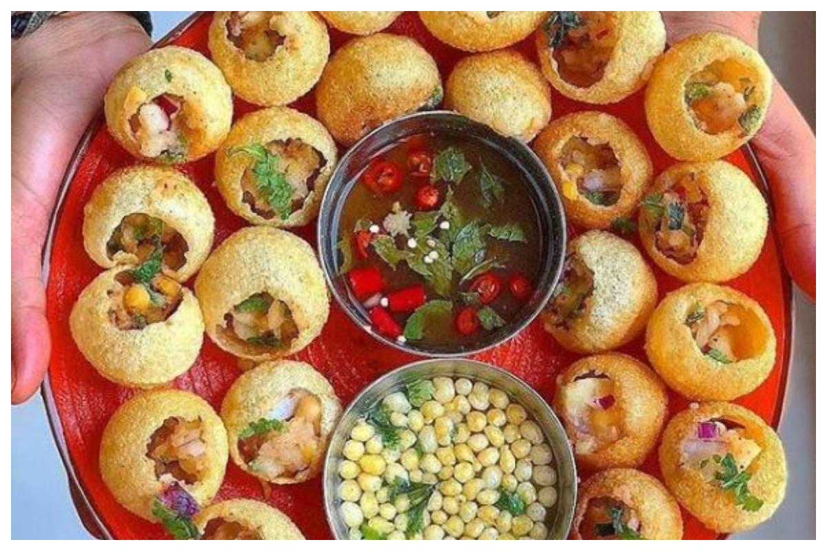 Gol Gappas, Street Food