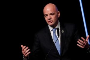 'We all must say no to racism and any form of discrimination': FIFA President