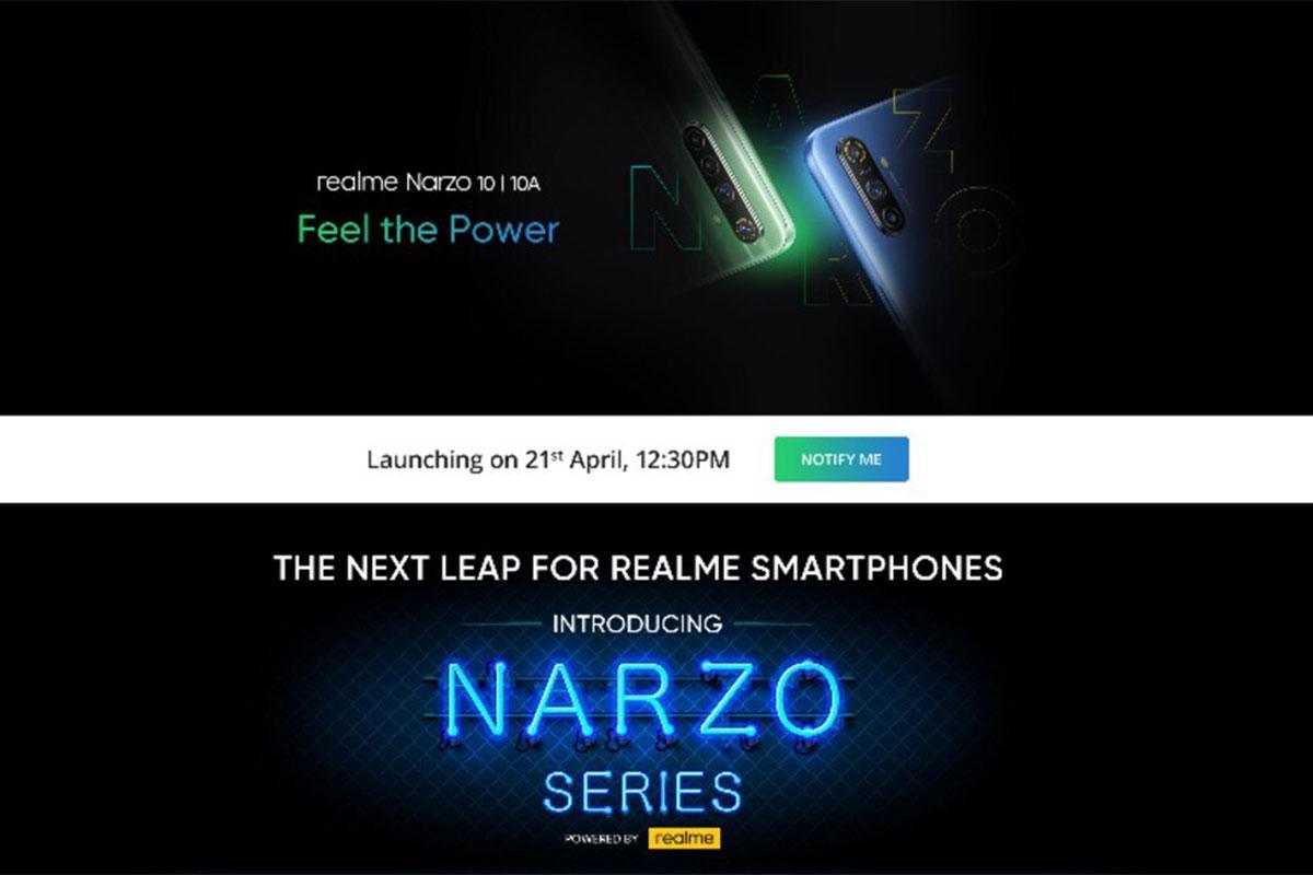 Realme Narzo 10, Realme