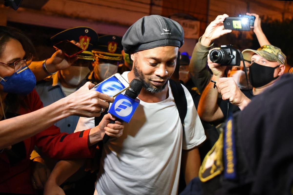 Ronaldinho, Paraguay, COVID-19, Ronaldinho news, Ronaldinho paraguay prison, Ronaldinho releaed, Ronaldinho arrest news, Ronaldinho arrested